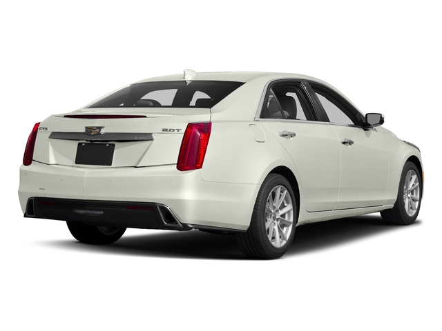 Crystal White Tricoat 2018 Cadillac CTS Sedan Pictures CTS Sedan 4D Luxury AWD V6 photos rear view