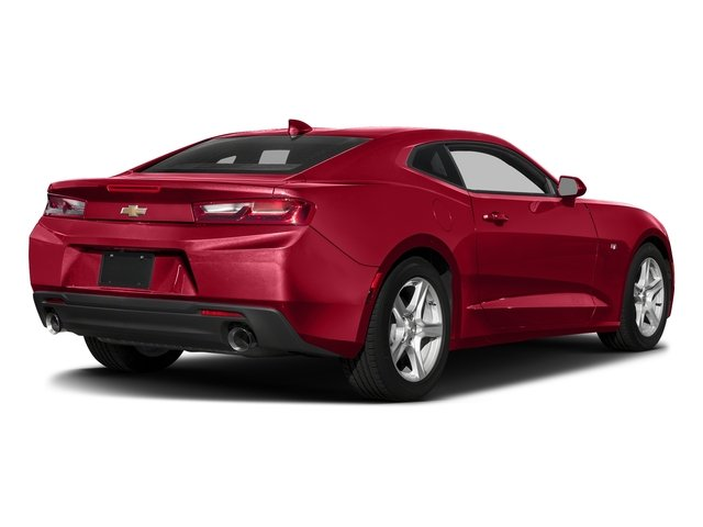 Red Hot 2018 Chevrolet Camaro Pictures Camaro 2dr Cpe LT w/2LT photos rear view