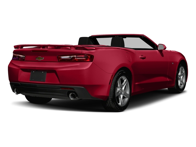Red Hot 2018 Chevrolet Camaro Pictures Camaro 2dr Conv LT w/2LT photos rear view