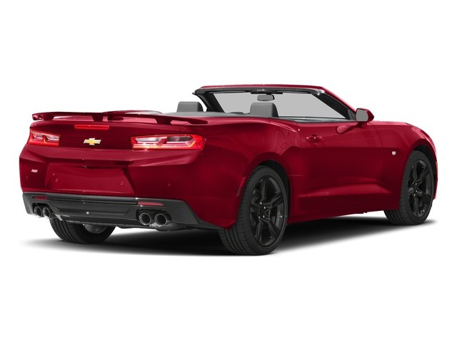 Red Hot 2018 Chevrolet Camaro Pictures Camaro 2dr Conv SS w/2SS photos rear view