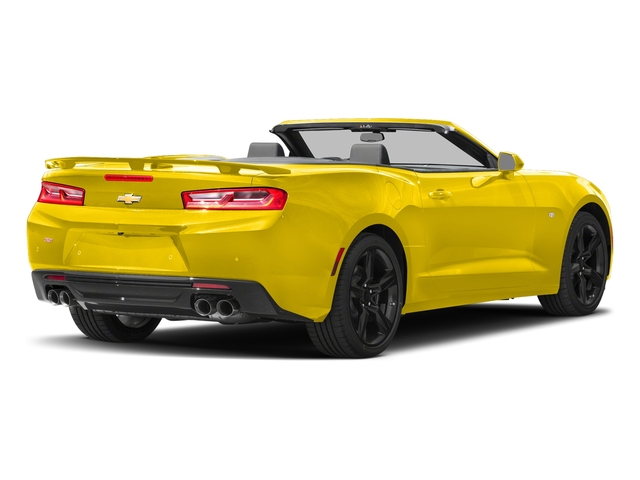 Bright Yellow 2018 Chevrolet Camaro Pictures Camaro 2dr Conv SS w/2SS photos rear view
