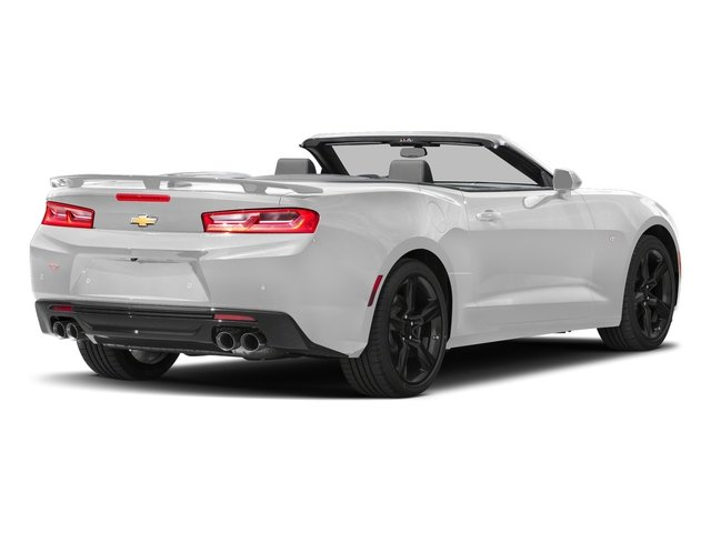 Summit White 2018 Chevrolet Camaro Pictures Camaro 2dr Conv SS w/2SS photos rear view