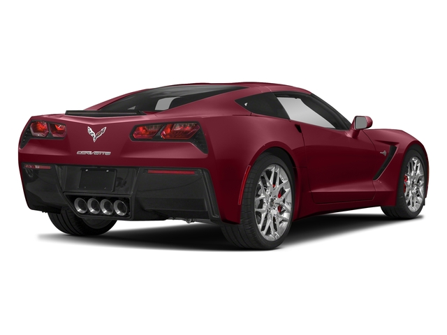 Long Beach Red Metallic Tintcoat 2018 Chevrolet Corvette Pictures Corvette 2dr Stingray Cpe w/2LT photos rear view