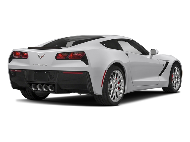 Blade Silver Metallic 2018 Chevrolet Corvette Pictures Corvette 2dr Stingray Cpe w/2LT photos rear view