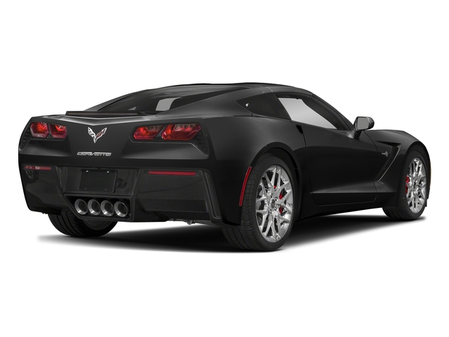 Black 2018 Chevrolet Corvette Pictures Corvette 2dr Stingray Cpe w/2LT photos rear view