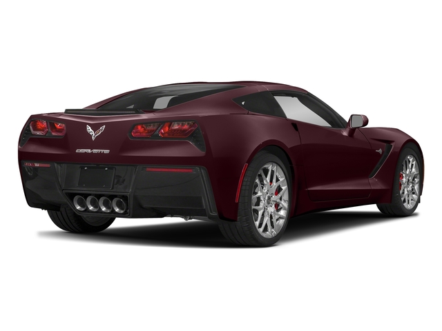 Black Rose Metallic 2018 Chevrolet Corvette Pictures Corvette 2dr Stingray Cpe w/2LT photos rear view