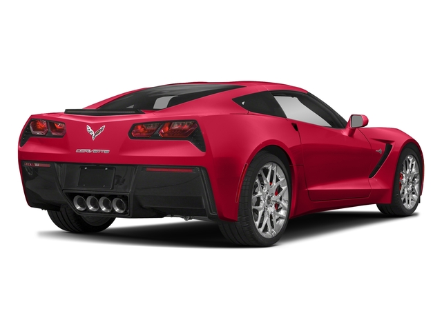 Torch Red 2018 Chevrolet Corvette Pictures Corvette 2dr Stingray Cpe w/2LT photos rear view