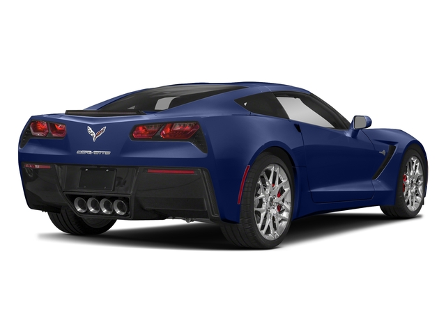 Admiral Blue Metallic 2018 Chevrolet Corvette Pictures Corvette 2dr Stingray Cpe w/2LT photos rear view