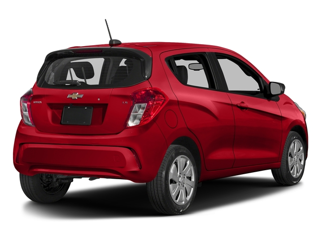 Red Hot 2018 Chevrolet Spark Pictures Spark 5dr HB CVT LS photos rear view