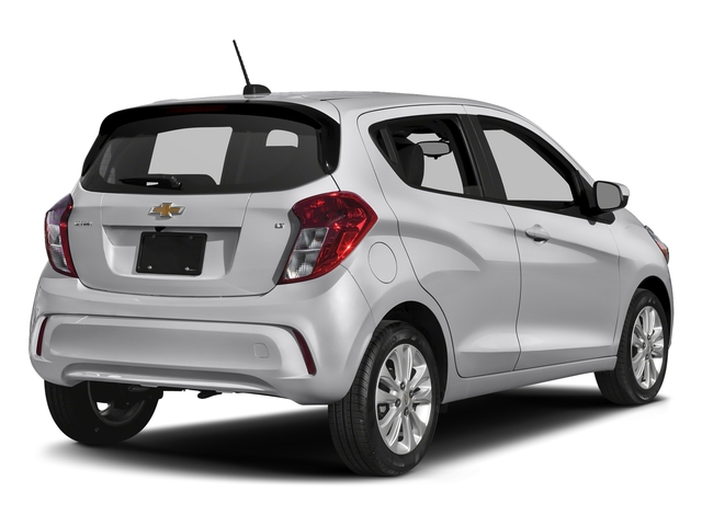 Silver Ice 2018 Chevrolet Spark Pictures Spark 5dr HB Man LT w/1LT photos rear view