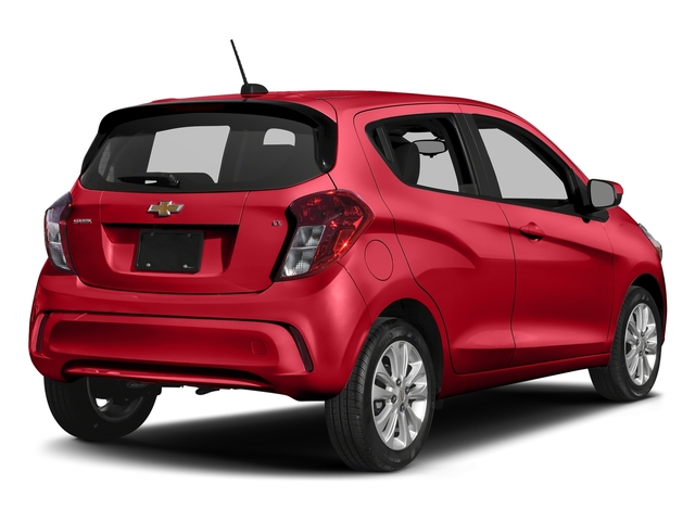 Red Hot 2018 Chevrolet Spark Pictures Spark 5dr HB Man LT w/1LT photos rear view