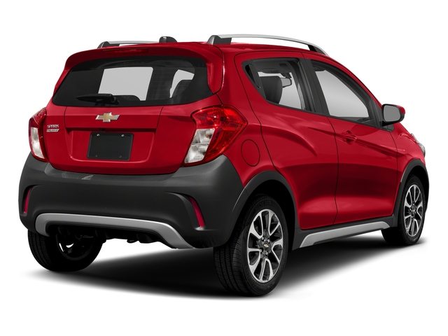 Red Hot 2018 Chevrolet Spark Pictures Spark 5dr HB Man ACTIV photos rear view