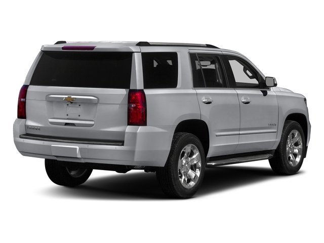 Silver Ice Metallic 2018 Chevrolet Tahoe Pictures Tahoe 2WD 4dr Commercial photos rear view