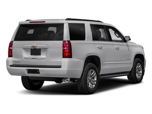 Silver Ice Metallic 2018 Chevrolet Tahoe Pictures Tahoe 2WD 4dr LT photos rear view