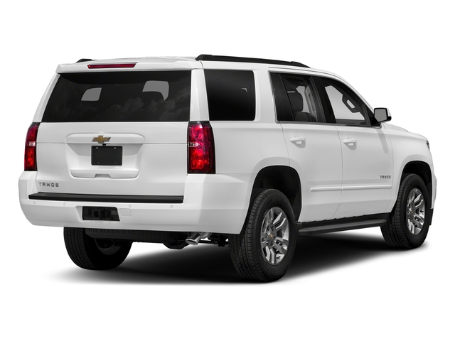 Summit White 2018 Chevrolet Tahoe Pictures Tahoe 2WD 4dr LT photos rear view