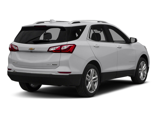 Silver Ice Metallic 2018 Chevrolet Equinox Pictures Equinox FWD 4dr Premier w/1LZ photos rear view