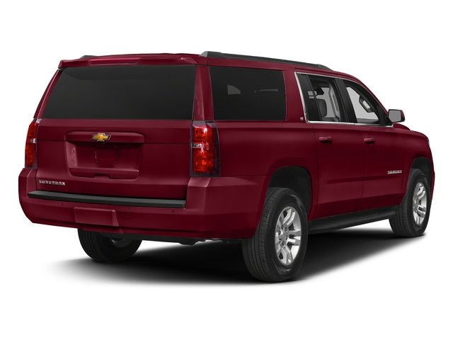 Siren Red Tintcoat 2018 Chevrolet Suburban Pictures Suburban 4WD 4dr 1500 LT photos rear view