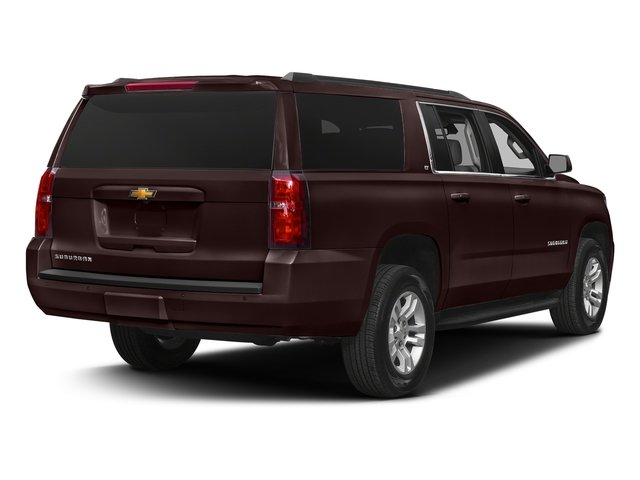 Havana Metallic 2018 Chevrolet Suburban Pictures Suburban 4WD 4dr 1500 LT photos rear view