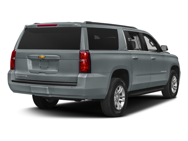 Satin Steel Metallic 2018 Chevrolet Suburban Pictures Suburban 4WD 4dr 1500 LT photos rear view