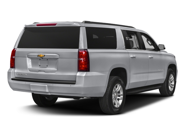 Silver Ice Metallic 2018 Chevrolet Suburban Pictures Suburban 4WD 4dr 1500 LT photos rear view