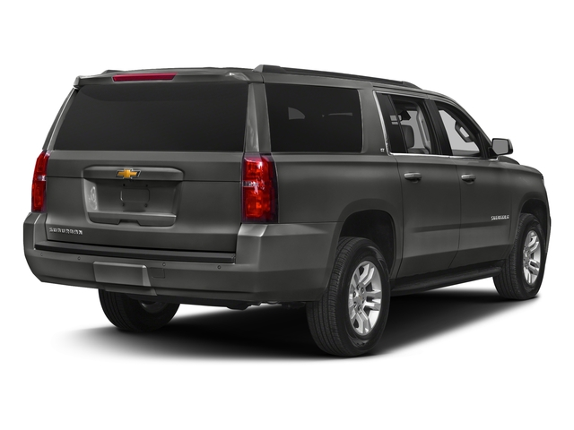 Tungsten Metallic 2018 Chevrolet Suburban Pictures Suburban 4WD 4dr 1500 LT photos rear view