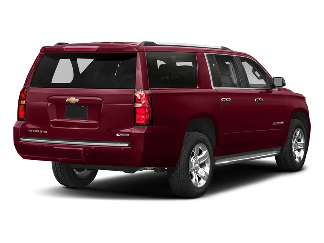 Siren Red Tintcoat 2018 Chevrolet Suburban Pictures Suburban 2WD 4dr 1500 Premier photos rear view