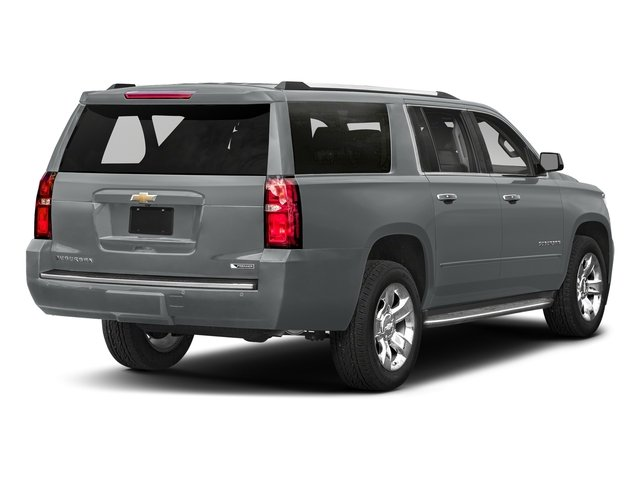 Satin Steel Metallic 2018 Chevrolet Suburban Pictures Suburban 2WD 4dr 1500 Premier photos rear view