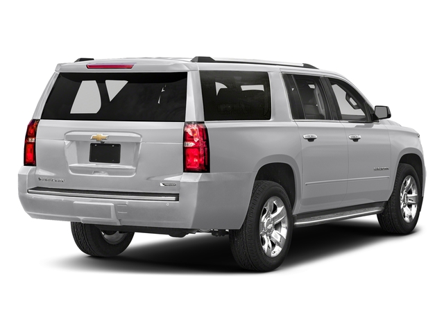 Silver Ice Metallic 2018 Chevrolet Suburban Pictures Suburban 2WD 4dr 1500 Premier photos rear view