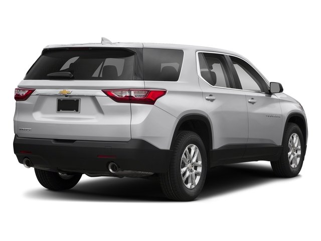 Silver Ice Metallic 2018 Chevrolet Traverse Pictures Traverse AWD 4dr LS w/1LS photos rear view