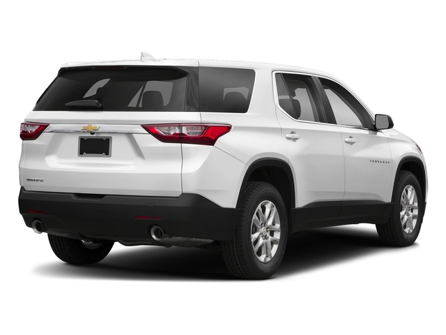 Summit White 2018 Chevrolet Traverse Pictures Traverse AWD 4dr LS w/1LS photos rear view