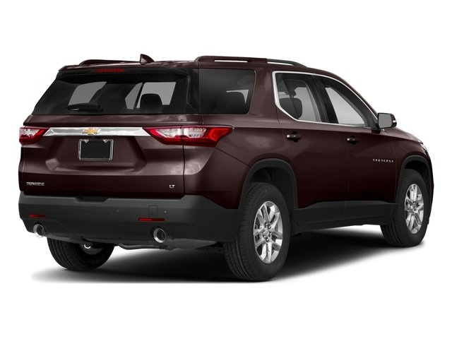 Sable Brown Metallic 2018 Chevrolet Traverse Pictures Traverse AWD 4dr LT Cloth w/1LT photos rear view