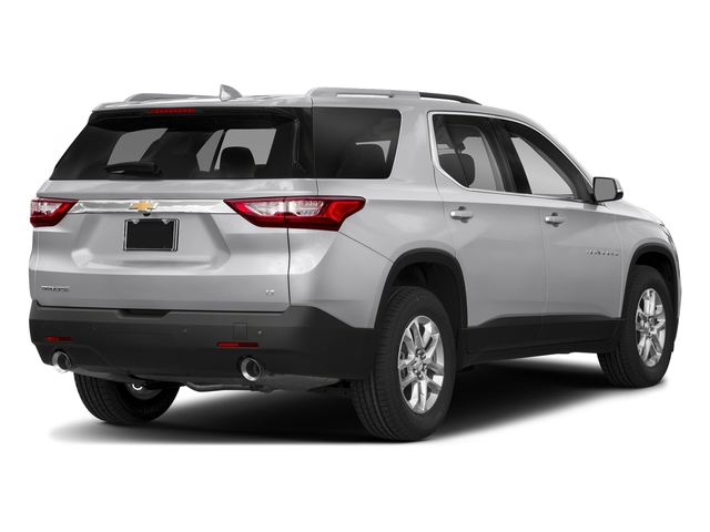 Silver Ice Metallic 2018 Chevrolet Traverse Pictures Traverse FWD 4dr LT Cloth w/2FL photos rear view