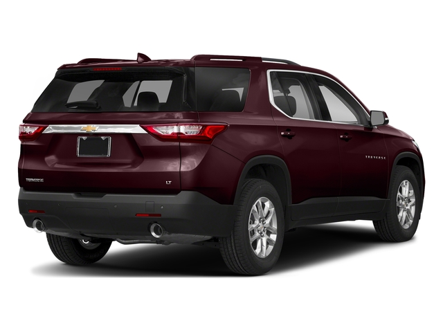 Black Currant Metallic 2018 Chevrolet Traverse Pictures Traverse AWD 4dr LT Cloth w/1LT photos rear view