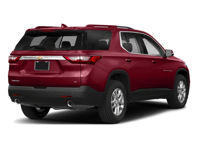Cajun Red Tintcoat 2018 Chevrolet Traverse Pictures Traverse AWD 4dr LT Cloth w/1LT photos rear view