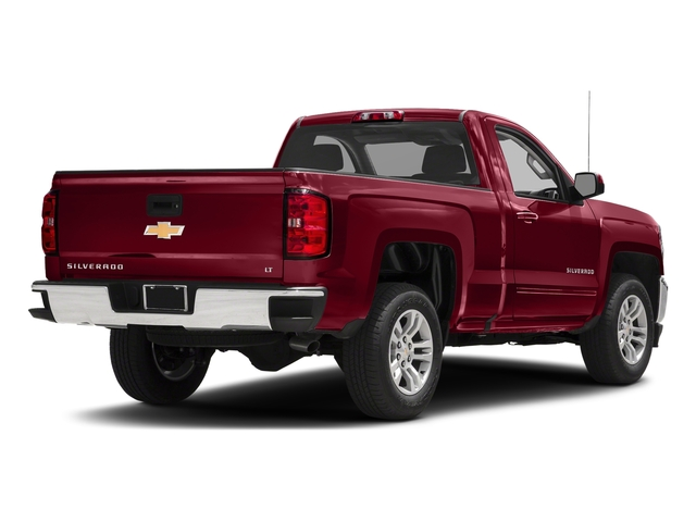 Cajun Red Tintcoat 2018 Chevrolet Silverado 1500 Pictures Silverado 1500 4WD Reg Cab 133.0 LT w/2LT photos rear view