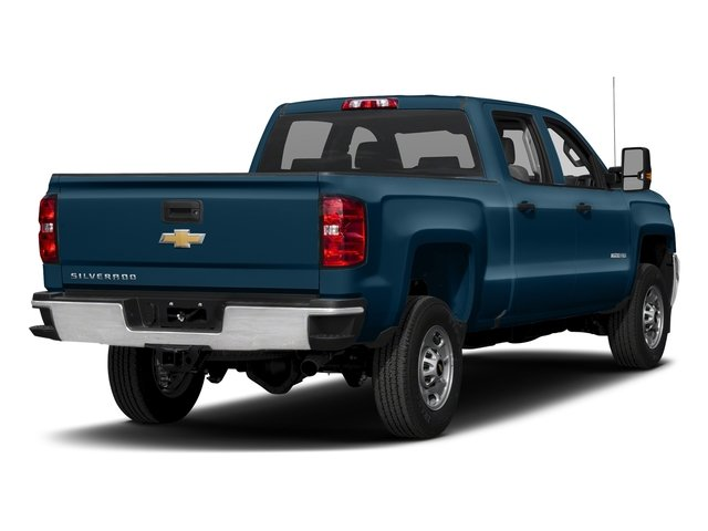 Deep Ocean Blue Metallic 2018 Chevrolet Silverado 2500HD Pictures Silverado 2500HD 4WD Crew Cab 167.7 Work Truck photos rear view