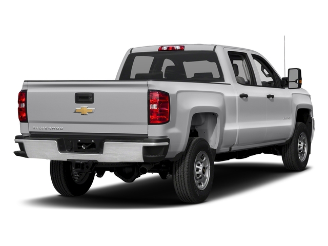 Silver Ice Metallic 2018 Chevrolet Silverado 2500HD Pictures Silverado 2500HD 4WD Crew Cab 167.7 Work Truck photos rear view