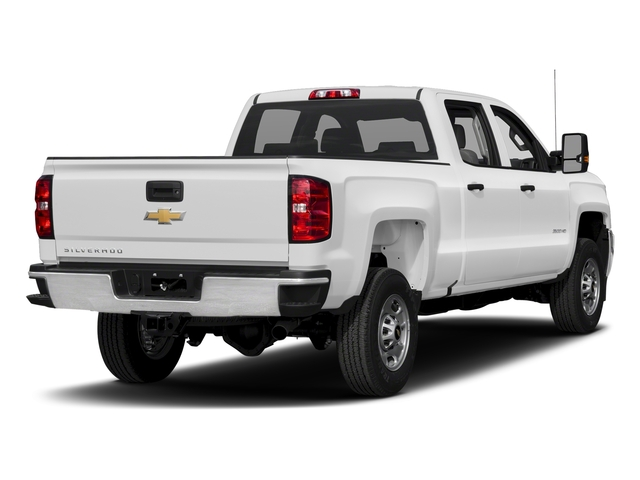 Summit White 2018 Chevrolet Silverado 2500HD Pictures Silverado 2500HD 4WD Crew Cab 167.7 Work Truck photos rear view