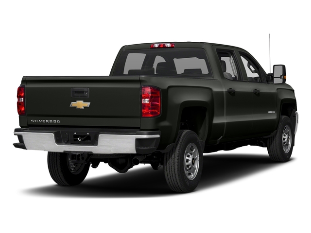 Graphite Metallic 2018 Chevrolet Silverado 2500HD Pictures Silverado 2500HD 4WD Crew Cab 167.7 Work Truck photos rear view