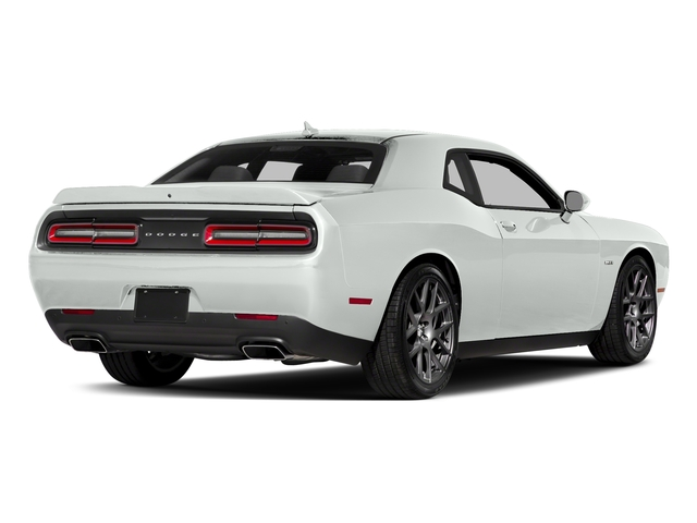 White Knuckle Clearcoat 2018 Dodge Challenger Pictures Challenger R/T Shaker RWD photos rear view