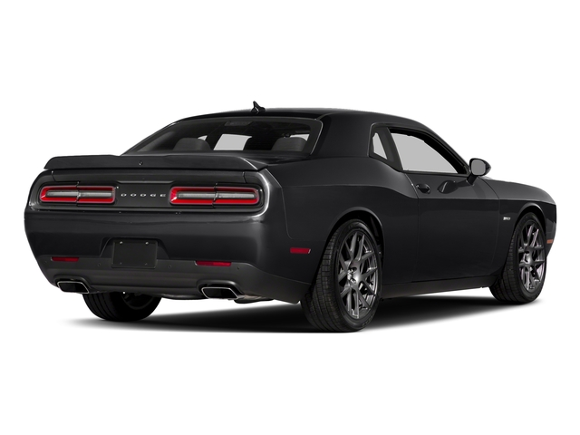 Pitch Black Clearcoat 2018 Dodge Challenger Pictures Challenger R/T Shaker RWD photos rear view