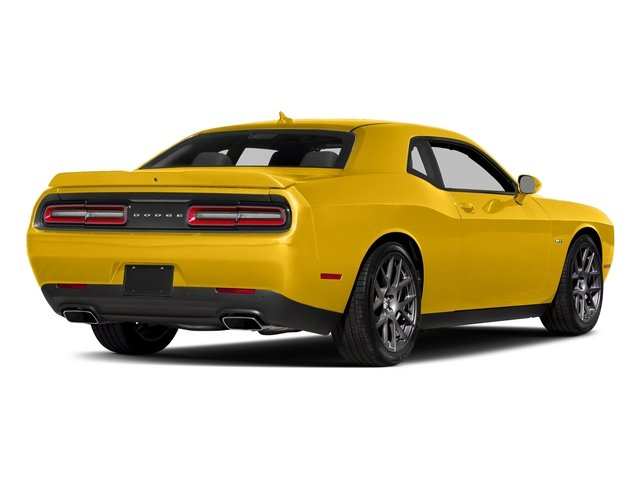 Yellow Jacket Clearcoat 2018 Dodge Challenger Pictures Challenger R/T Shaker RWD photos rear view