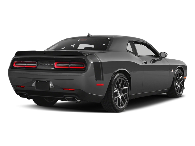 Destroyer Gray Clearcoat 2018 Dodge Challenger Pictures Challenger R/T Scat Pack RWD photos rear view