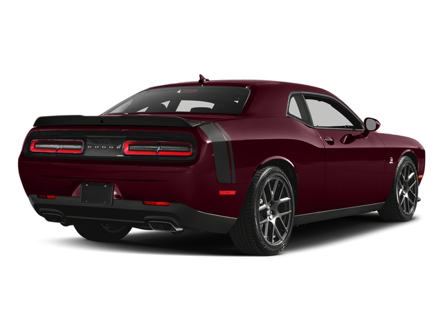 Octane Red Pearlcoat 2018 Dodge Challenger Pictures Challenger R/T Scat Pack RWD photos rear view