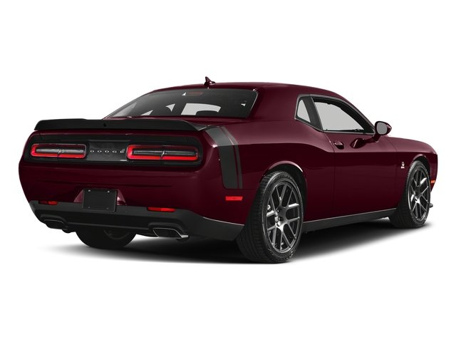Octane Red Pearlcoat 2018 Dodge Challenger Pictures Challenger 392 Hemi Scat Pack Shaker RWD photos rear view
