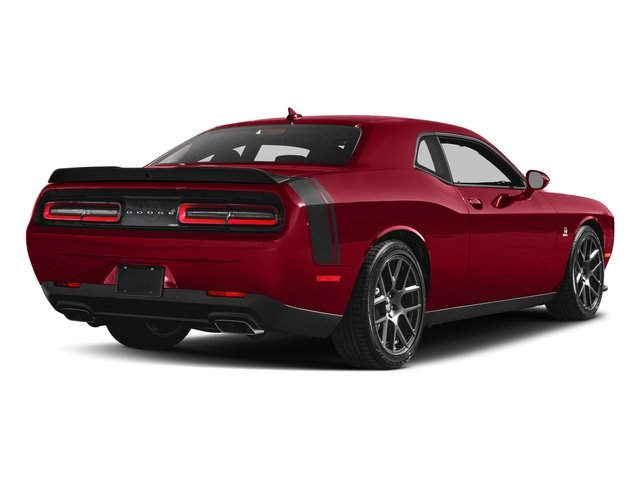Redline Red Tricoat Pearl 2018 Dodge Challenger Pictures Challenger 392 Hemi Scat Pack Shaker RWD photos rear view