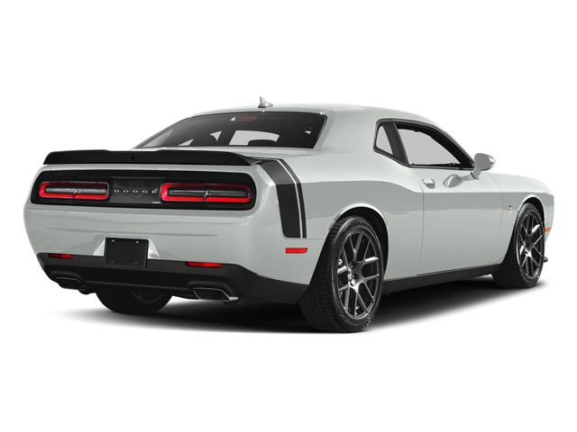 White Knuckle Clearcoat 2018 Dodge Challenger Pictures Challenger 392 Hemi Scat Pack Shaker RWD photos rear view