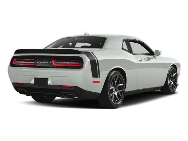 White Knuckle Clearcoat 2018 Dodge Challenger Pictures Challenger R/T Scat Pack RWD photos rear view