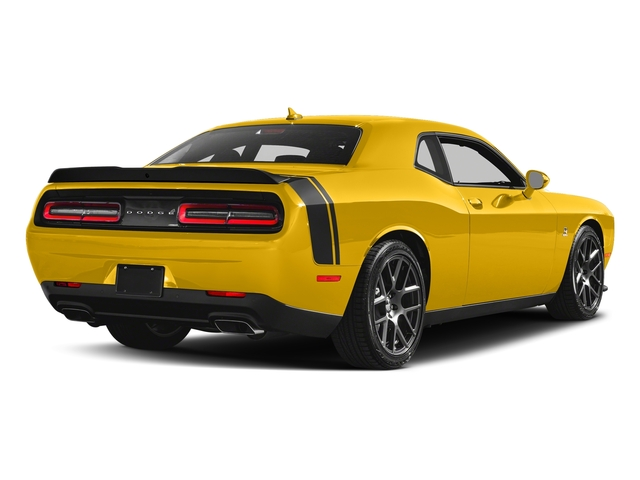 Yellow Jacket Clearcoat 2018 Dodge Challenger Pictures Challenger R/T Scat Pack RWD photos rear view