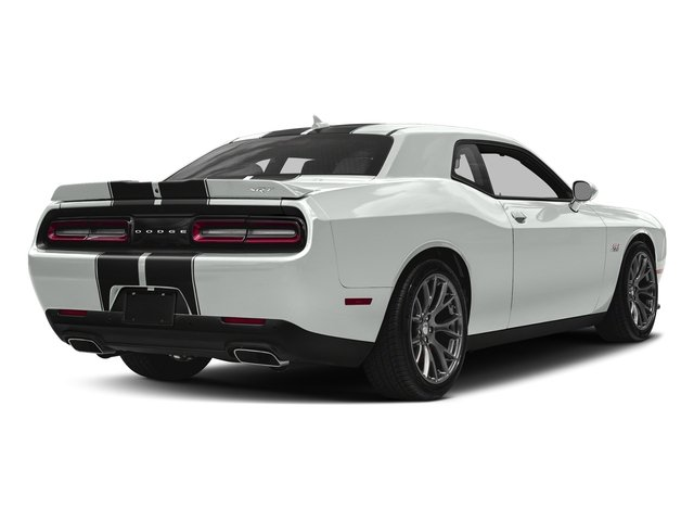 White Knuckle Clearcoat 2018 Dodge Challenger Pictures Challenger SRT 392 RWD photos rear view